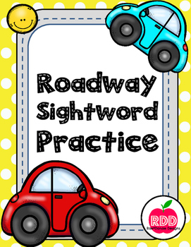 Roadway Sight Word Practice