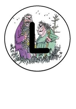 Roald Dahl sign