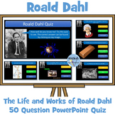 Roald Dahl: 50 Question Quiz on His Life and Works