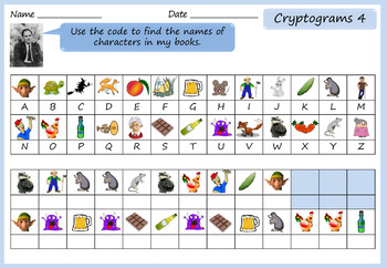 Roald Dahl Activity Pack - Word Searches, Anagrams, Crosswords, Cryptograms
