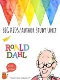 Roald Dahl Author Study - BIG KID Interactive Notebook - Close Reading