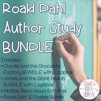 Roald Dahl Author Study BUNDLE with Lapbooks