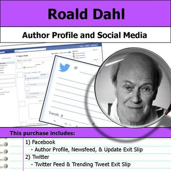Roald Dahl - Author Study - Profile and Social Media