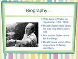 Roald Dahl Author's Study Power Point