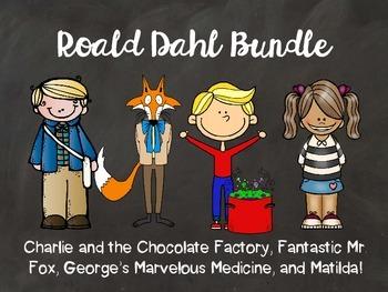 Roald Dahl Books Bundle!