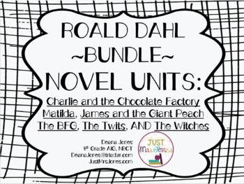 Roald Dahl Novel Unit Bundle