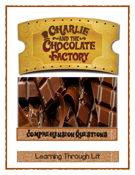 Roald Dahl CHARLIE AND THE CHOCOLATE FACTORY Comprehension & Vocabulary