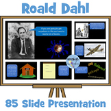 Roald Dahl: PowerPoint Presentation - The Life and Works of Dahl