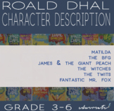 Roald Dahl Character Description