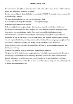 Roald Dahl Character Description Activities