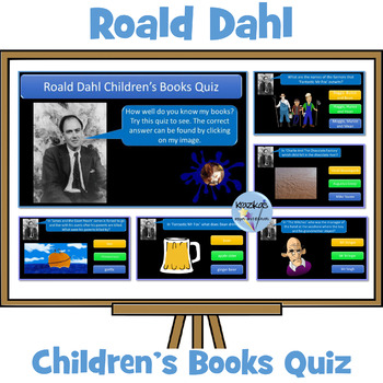 Roald Dahl Children's Books Quiz - 100 Questions - Highly Visual and Interactive