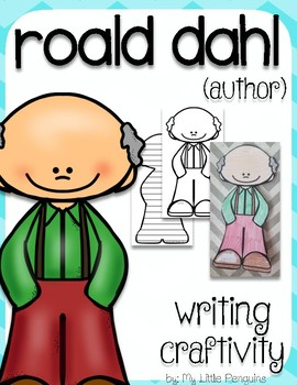 """Roald Dahl """"Craftivity"""" Writing page (Author)"""