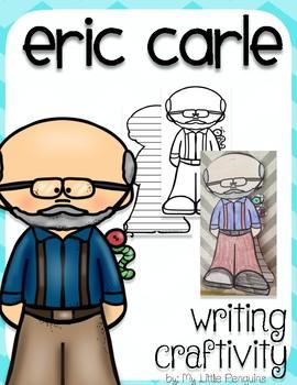 "Eric Carle ""Craftivity"" Writing page (Author)"