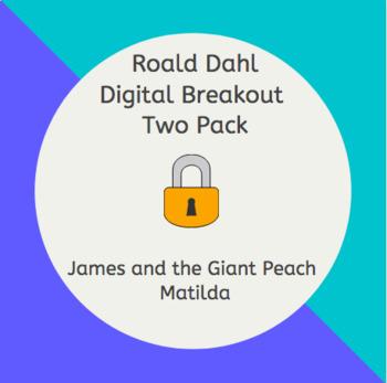 Roald Dahl Digital Breakout Escape Room Two Pack