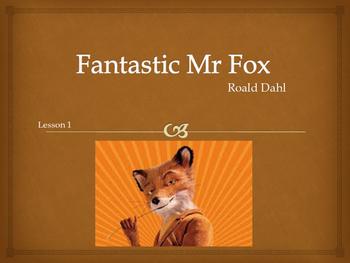 Roald Dahl - Fantastic Mr Fox 6 lesson block
