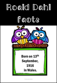 Roald Dahl Fascinating Facts