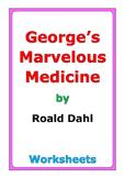 """Roald Dahl """"George's Marvelous Medicine"""" worksheets"""