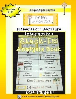 Roald Dahl Interactive Stack-Em Analysis Book Collection