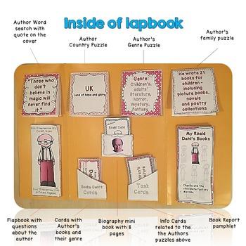 Roald Dahl Lapbook