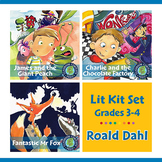 Roald Dahl Lit Kit Set - BUNDLE Gr. 3-4