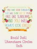 Roald Dahl Literature Circle - UNIT