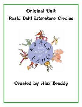 Roald Dahl Literature Circle Unit