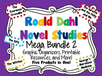 Roald Dahl Novel Studies Mega Bundle 2