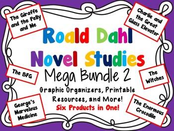 Roald Dahl Novel Studies Mega Bundle 2