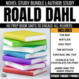 Roald Dahl Novel Study Bundle