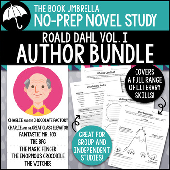 Roald Dahl Novel Study Bundle #1