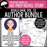 Roald Dahl Novel Study Bundle #2