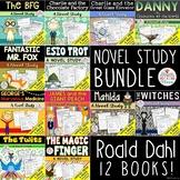 Roald Dahl Novel Study Unit Growing Bundle
