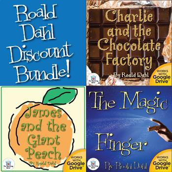 Roald Dahl Novel Study Unit Bundle