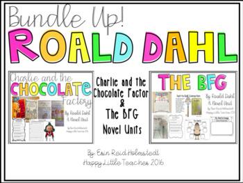 Roald Dahl Novel Units {The Bundle}