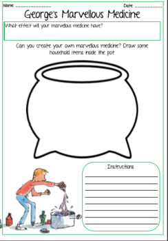 Roald Dahl Powerpoint & Activity Worksheets