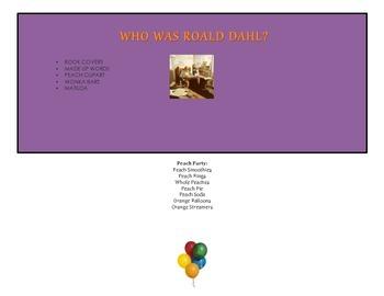 Roald Dahl September Activities Calendar Integrated Plan