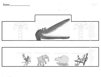 """Roald Dahl- """"The Enormous Crocodile""""- Headdress"""