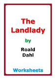 "Roald Dahl ""The Landlady"" worksheets"