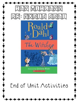 Roald Dahl - The Witches, After Reading Activities