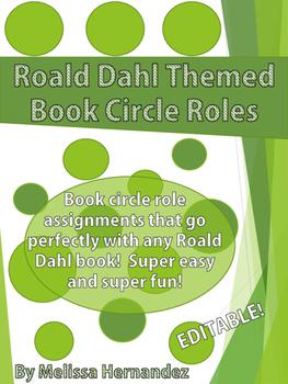 Roald Dahl Themed Book Circle Roles