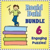 Roald Dahl Word Search Puzzle Bundle
