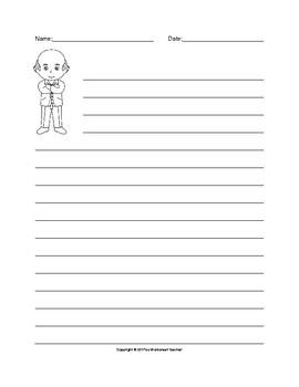 Roald Dahl Writing Paper Set