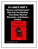 "Roald Dahl's ""Genesis and Catastrophe"" Short Story Close R"