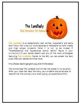 "Roald Dahl's ""The Landlady"""