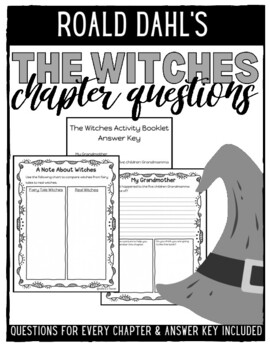 Roald Dahl's The Witches Activity Book