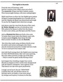 Roanoke (19) - The Lost Colony - verse, worksheet and puzzle