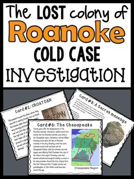 Roanoke : Cold Case Investigation