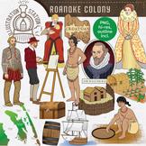 Roanoke Colony Clip Art