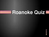 Roanoke Colony Quiz