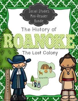 Roanoke Colony: Social Studies Mini - Reader Bundle